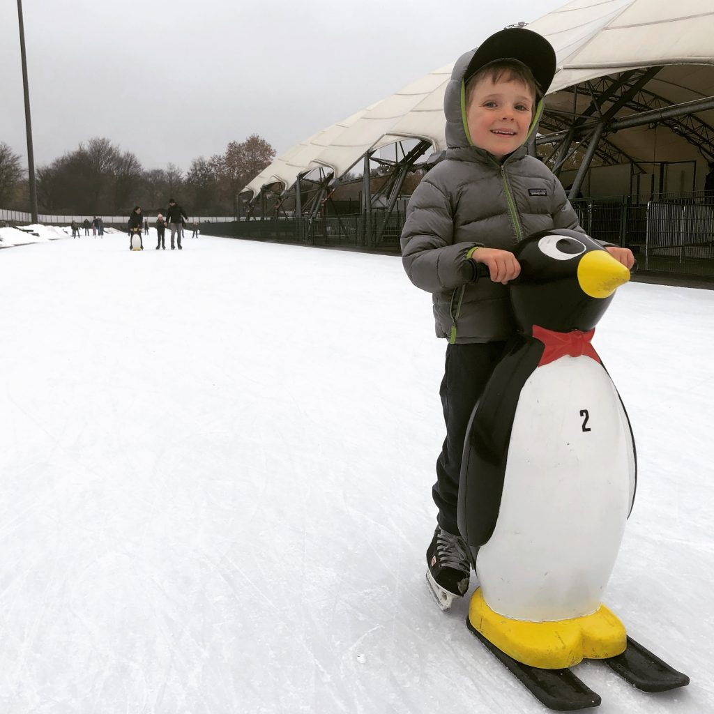 Noah Byrne and the Frankfurt Ice Skating Park
