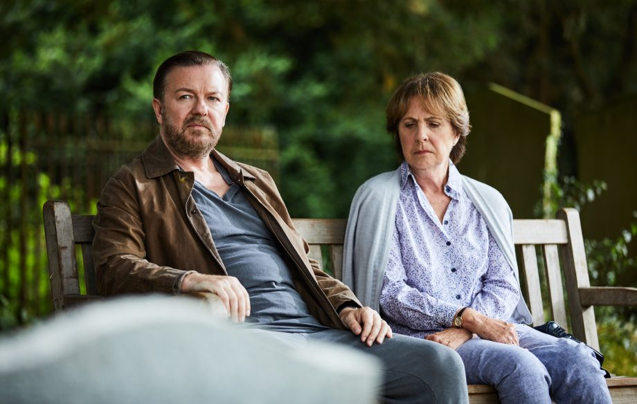 The After Life Scene With Ricky Gervais